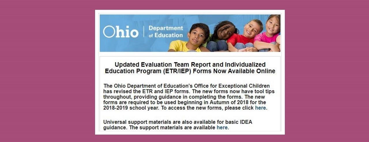 individualized education program and child