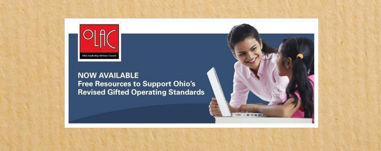 New resources for Gifted Operating Standards released from OLAC