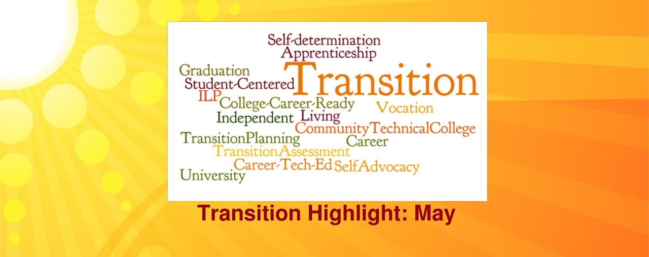 Transition highlight for May