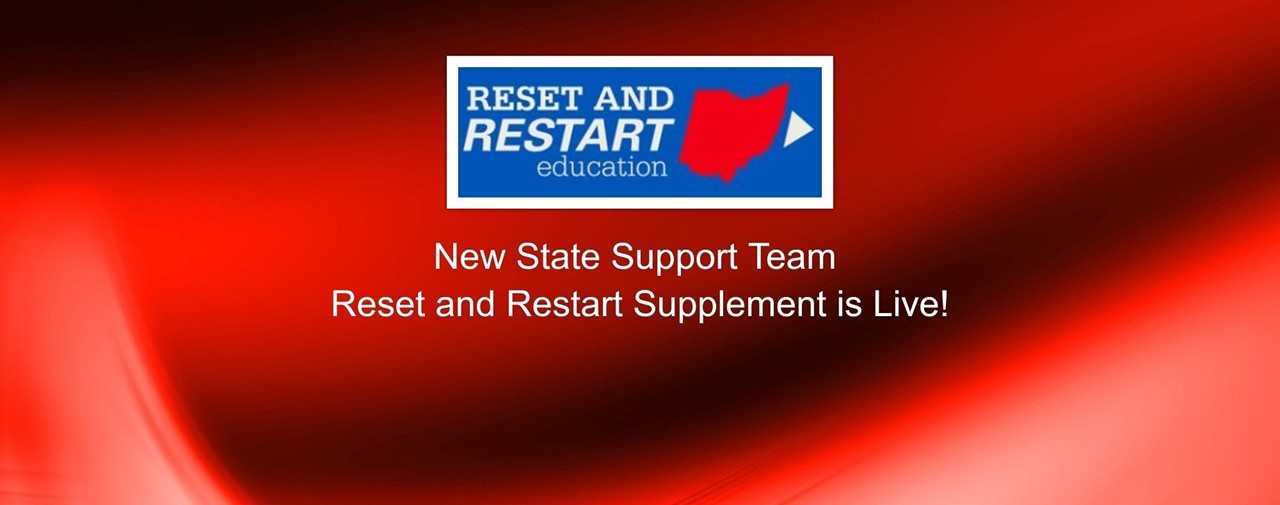 New State Support Team Reset and Restart Supplement is Live!